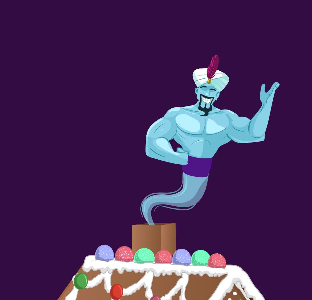 Genies Ultiate Gingerbread House1